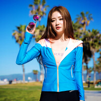 瑜伽服套装女春夏速干健身房服跳操跑步裤运动衣瑜珈显瘦 蓝色