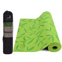 户外运动垫瑜伽垫6mmPVC印花无味防滑垫运动减肥加厚初学者