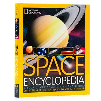美国国家地理 太空星球儿童版 National Geographic Kids Space Encyclopedia 英文原版 太空百科 精装大开本 儿童科普百科书 精装大开本 儿童科普百科书