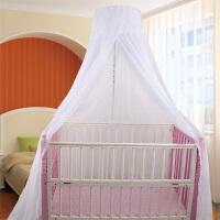儿童蚊帐婴童夹床蚊帐婴儿床落地式可移动宝宝蚊帐儿童