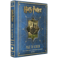 Harry Potter Page to Screen 英文原版 哈利波特从书本到银幕 英文版原版 现货正版进口英语书籍