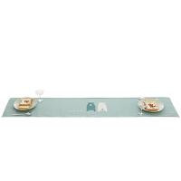 家纺卡通北欧桌旗现代简约餐桌布艺长条床旗电视柜茶几旗