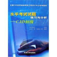 水平考试试题练习与分析-CAD初级 李启炎
