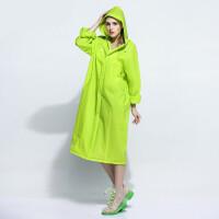 明嘉成人户外徒步雨衣连体透明男女旅游长款MJ820