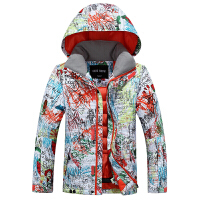 儿童滑雪服 防风防水保暖滑雪衣裤子男童女童滑雪服套装