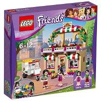 【当当自营】LEGO乐高心湖城比萨餐厅 41311