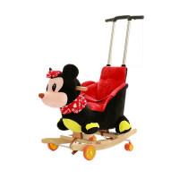 儿童木马摇马两用实木摇摇马婴儿益智玩具宝宝摇椅音乐1-3岁礼物