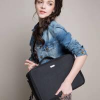 化妆箱手提大号化妆品收纳包化妆师手提箱包纹工具箱隔板收纳化妆箱 黑色