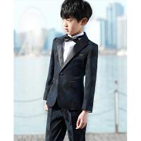男童套装2017儿童西装套装男三件套男孩西装礼服中大童演出服男童西装