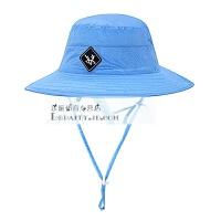 牧高笛户外女士潮休闲夏季防晒遮阳清新宽檐盆帽子渔夫帽太阳帽子 均码