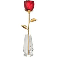 生日礼物女生送女友老婆爱人女朋友纪念日水晶玫瑰花迷你表白创意实用浪漫礼品定制结婚礼物