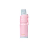 【当当自营】杯具熊(BEDDYBEAR) 男女保温保冷户外旅行不锈钢水壶 运动健身杯子580ml 粉色运动水杯