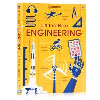 Usborne 儿童科普翻翻书 工程 Lift the Flap Engineering 英文原版 科学通识启蒙 儿童少