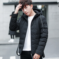 棉衣男韩版潮修身加厚冬装男士新款棉袄男短款冬季外套男