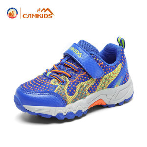 CAMKIDS女童鞋 男童登山鞋2017秋季新款儿童运动鞋减震防滑