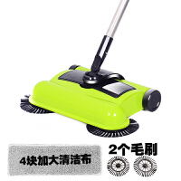 扫地机手推式家用吸尘器无线手动自动扫拖地一体机懒人魔扫把神器