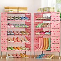 简易多层鞋架 组装防尘鞋柜简约现代经济型铁艺收纳架 f3s
