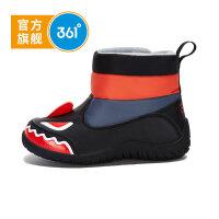 【开学季2.5折价:59.8】361° 361度童鞋 儿童棉鞋男童加厚款小童冬季新款棉鞋K71744653