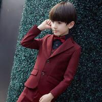 男童钢琴演出服礼服 儿童西装外套男孩小西服韩版中大童上衣