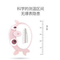 新款 计婴儿测宝宝专用洗澡温度计新生沐浴水温表显示器两用卡