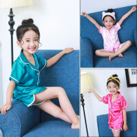 2女童5女孩幼儿宝宝婴儿睡衣夏季薄款空调房夏0-1一3岁女公主夏天