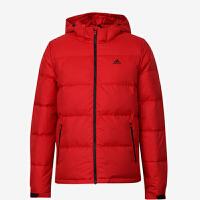 Adidas阿迪达斯 男子 运动羽绒服 防风连帽保暖羽绒外套 BQ8599