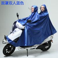大号雨衣电动车男装摩托车单人双人码加大加厚牛津布雨披 XXXXL