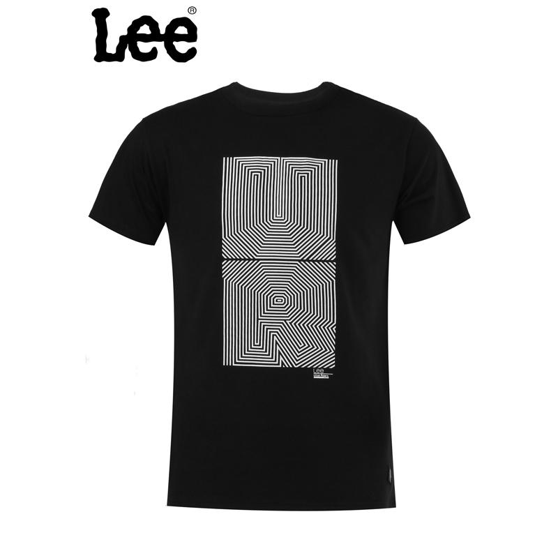 【书香节 跨店每满200减100】Lee 【断码】男士短袖T恤 休闲圆领设计 舒适百搭 L15131866K11