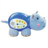 VTech伟易达小河马睡眠仪 宝宝安抚早教发光讲故事音乐盒儿童玩具 伟易达小河马睡眠仪