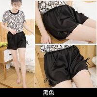安全裤防走光女夏季薄款可外穿内穿学生保险宽松蕾丝打底短裤