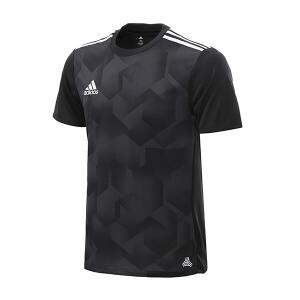adidas阿迪达斯男装短袖T恤2018足球运动服S98659