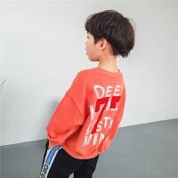 男童卫衣潮2018春秋新款韩版儿童上衣宽松套头春装男宝宝外套