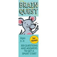 Brain Quest for Threes, revised 4th edition 智力开发系列:3-4岁益智 I