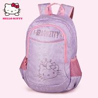 HelloKitty凯蒂猫 KT1096A浅紫 韩版儿童书包 3-6年级可爱女小学生护脊减负书包