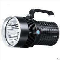 高端大气家用露营照明灯3核LED 3600流明手提灯强光手电筒远程可充电探照灯