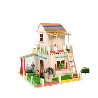 雪糕棒diy�和�手工制作模型房子材料包幼��@益智��意玩具
