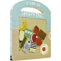 【首页抢券300-100】I Can Go Shopping 趣味早教玩具书纸板书 我能去购物 启蒙认知 沉浸式学习 英