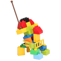 儿童积木玩具益智塑料组装拼插 男孩女孩3-4-5-6岁游戏
