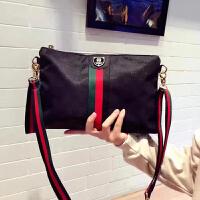 手拿包女包包新款简约韩版百搭女包单肩包女款布手包斜挎小包