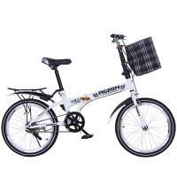 折叠自行车20寸减震双碟刹变速超轻便携款学生男女式山地单车