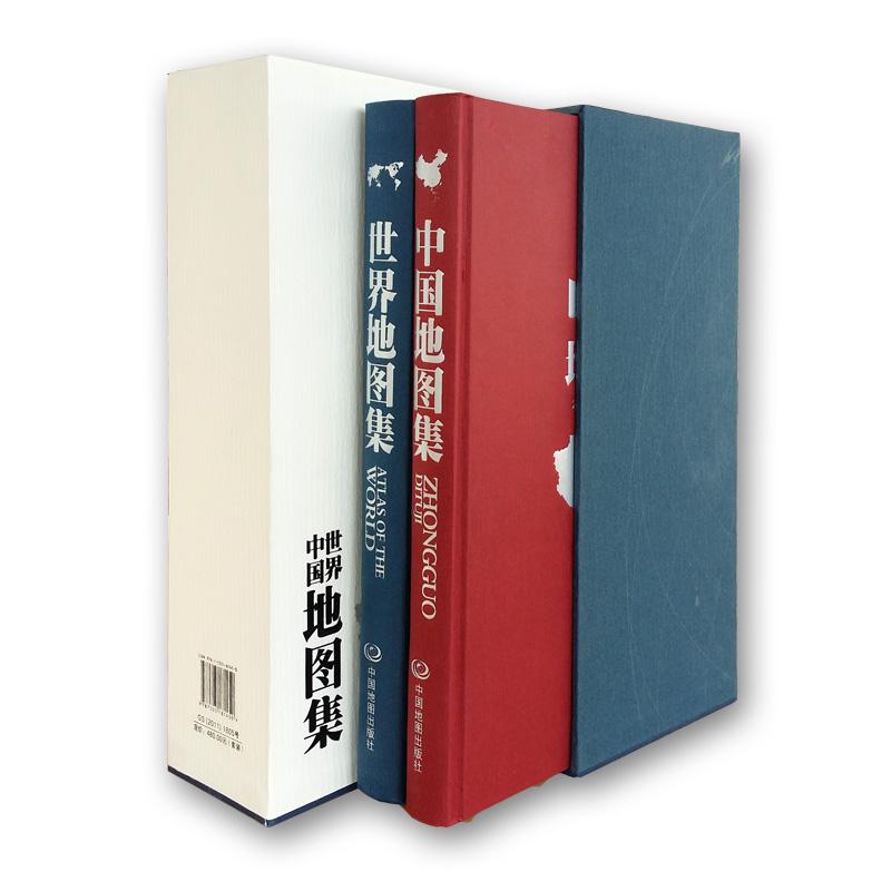 中国地图集+世界地图集(精装共2册)实用的中国地图、世界地图参考工具书。图集富有创新意识,内容涉及面广、信息量大、现势性强。