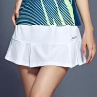 夏季羽毛球服裤裙女短裤裙内置口袋网球裙裤速干修身