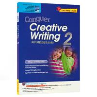 【首页抢券300-100】SAP Conquer Creative Writing 2 二年级写作练习册 攻克创意写作系