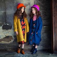 韩国童装秋冬女童长款毛线衣中大儿童宽松百搭保暖开衫亲子装外套
