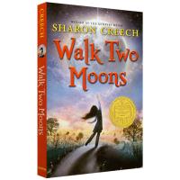 Walk Two Moons 印第安人的麂皮靴 英文原版 无悔追寻 励志儿童文学读物 纽伯瑞金奖 Sharon Cre