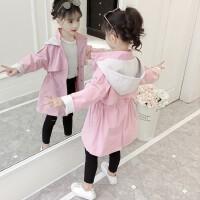 女童春装外套新款春秋女大童儿童风衣