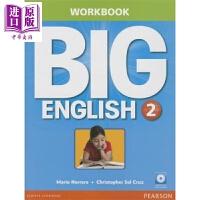 【中商原版】Big English 2 Workbook with Audio CD 朗文培生英语学乐趣2级练习册(配光