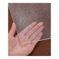 软玻璃PVC桌布防水防烫防油免洗透明胶垫塑料餐桌茶几垫水晶板ins