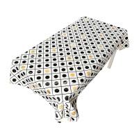 北欧餐桌布艺台布圆桌布加厚长方形茶几布客厅餐厅书桌多用盖巾布