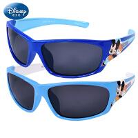 迪士尼儿童太阳镜男童偏光 学生防紫外线蛤蟆镜男孩墨镜宝宝眼镜太阳眼镜